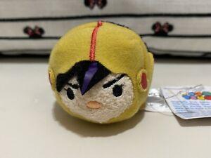 """Disney Tsum Tsum Go Go Tomago Big Hero 6 3.5"""" Mini Plush Yellow Gogo Bh6 Nwt"""