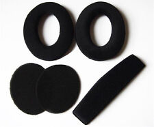 Replacement Ear Pads Headband Cushion For Sennheiser PC350 360 HD515 HD518 HD555