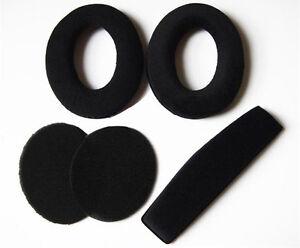 Ear Pads Headband Cushion For Sennheiser PC350 360 HD515 HD518 HD555 Replacement