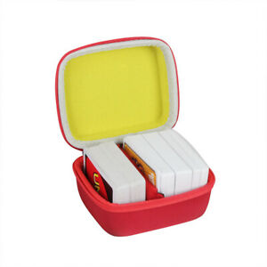 Travel Case for Mattel Games Skip BO UNO Card Phase 10 Game Fits up to 300 Cards