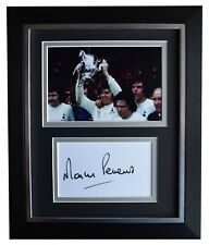 Martin Peters Signed 10x8 Framed Autograph Photo Display Tottenham Hotspur COA