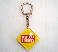 Porte clés PC keychain Key ring ancien bourbon : milliat frères (b)