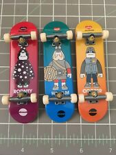 3 Tech Deck Almost Amos in crowd Mullen Haslem Cooper Skateboard james jarvis