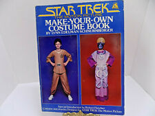 STAR TREK MAKE YOUR OWN COSTUME BOOK 1979 PATTERNS COSPLAY HOMESCHOOL ACTIVITY