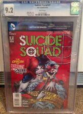 Suicide Squad #7 2012 Harley Quinn CGC 9.2