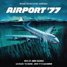 AIRPORT 77 & 79 CONCORDE John Cacavas Lalo Schifrin 2-CD Score LA-LA LAND New!