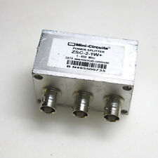 1PC Mini-Circuits ZSC-2-1W+ 1-650MHz BNC RF Coaxial One-to-Two Power Splitter
