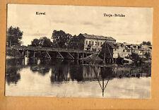 Kowel Ukraine,super Brücken Ansicht,Feldpost 1916