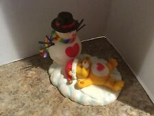 Christmas with the Care Bears Tenderheart Snowman Ceramic Collectible Figure