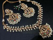 Indian Kundan Punjabi Pakistani Jewlery Bridal Jewelry