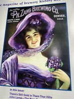 Beer MAG Features Prepro Zang Rare History Signs Denver Colorado  lighted Glass