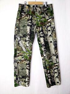 Mossy Oak Men's Mountain Country Camouflage Pants Aspen Camo Size 34x34