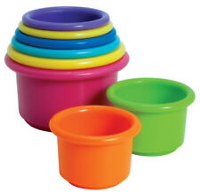 THE FIRST YEARS - Stacking Up Cups Baby Toy - 8 Pack