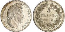 LOUIS PHILIPPE 5 FRANCS ARGENT 1832 B ROUEN