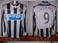 Newcastle United SHEARER Puma BNWT M L XL Football Soccer Jersey Shirt NEW L/S