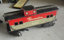 Vintage 1960s O Scale Marx Tin Litho NYC Pacemaker 20123 Caboose Car
