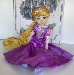 "DISNEY Just Play Rapunzel Large 29""/ 74cm Princess Singing Doll Plush Soft Toy"