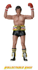 "Rocky - Rocky Black Trunks 40th Anniversary 7"" Action Figure"