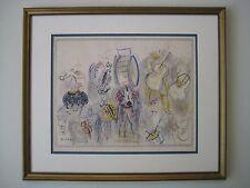 "Original Signed Raoul Dufy ""La Fanfare"" Litho EX/HC Rare Artist Proof - C.1950 !"