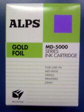 Alps MD Printer Ink Cartridge - Gold Foil 105148-00
