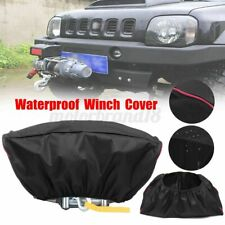 Waterproof 420D Winch Dust Cover For Driver Recovery 5000LB-13000LB Capacity USA
