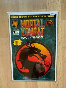 Mortal Kombat 1 - High Grade Comic Book - B78-39