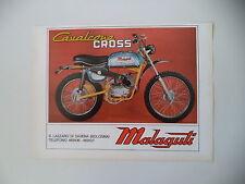 advertising Pubblicità 1971 MOTO MALAGUTI CAVALCONE CROSS 50
