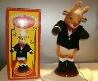 """VTG  Dancing Singing Rudolph the Red Nose Reindeer Motion Activated 16"""""""