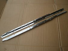 CLASSIC BMC  MK1 MINI  COOPER  & S  EARLY 10 HOLE TYPE METAL DOOR WINDOW RUNNERS