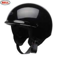 Bell Scout Aire Negro Brillante Casco Medio ECE aprobado todos los tamaños