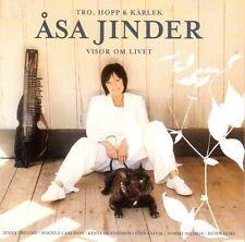 CD Asa åsa Jinder, Tro, Hopp & Kärlek, Visor Om Livet, Folk Schweden, schwedisch