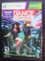 DANCE CENTRAL KINECT XBOX 360 MICROSOFT WORKING