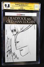 Deadpool vs Old Man Logan #1 CGC 9.8 SS Signed & Sketched John Romita Jr JRJR