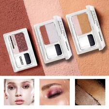 Two-tone Eye Shadow Powder Palette Waterproof Shimmer Eyeshadow Makeup Cosmetics