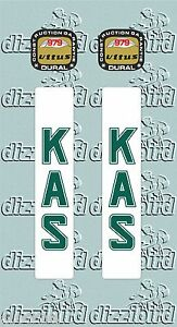 VITUS 979 + Kas fork decals (pair) - perfect for re-sprays