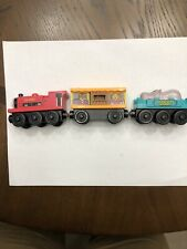 Ivo Hugh,  Hippo and Zoo Cars- Thomas the Train Wooden Railway Cars