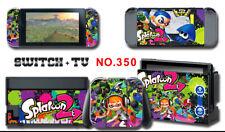 Vinyl Decal Skin Sticker Protector for Nintendo Switch Splatoon2 #350