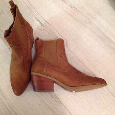 M&S Insolia Flex Comfort Western Chelsea Boot Faux Suede Size 5 RRP £45