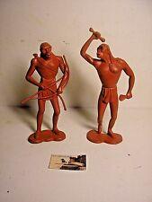Soldatini Toy Soldiers Marx Toys (?) Preistorici plastica cm 10