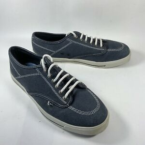 """Kickers """"Old School Kicks"""" Lace Up Trainer Pumps Size 7 - Navy Blue."""