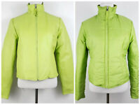 Wilson's Leather Maxima Green Reversible Leather Quilted Jacket Women's Size S