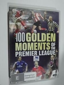 100 Golden Moments Of The Premier League DVD Sports GOOD CONDITION
