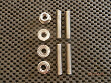 BMW R1100S STAINLESS STEEL EXHAUST STUDS & FLANGE NUTS R1100 S