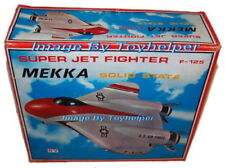 US Air Force Super Jet Fighter F-125 Mekka Solid State AM Radio