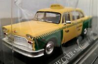 1/43 CHECKER SAN FRANCISCO TAXI 1980 COCHE DE METAL A ESCALA