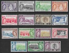 Montserrat 1953-62 Set to $4.80 (Mint)