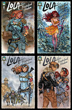 Lola XOXO: Wasteland Madam Complete A Cover Set 1-4 Aspen 9.4 NM Siya Oum