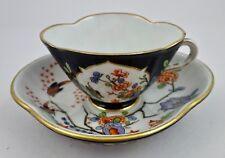 Antique Thun Dresden Demitasse Cup & Saucer, Kakiemon