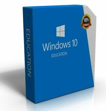Windows 10 Education 64-bit Install Restore Repair Recovery Update Boot Disc DVD
