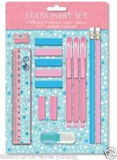 Vintage Butterfly Stationery Set Pens Ruler Pencils Highlighter & More Gift Set